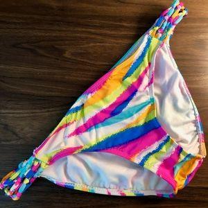 Boutique Rainbow Swim Bottoms - Medium